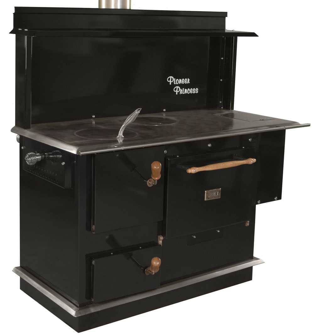 PIONEER PRINCESS WOOD COOK STOVE by PIONEER STOVES .